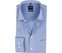 Luxor Bügelfrei Hemd Modern Fit Bleu