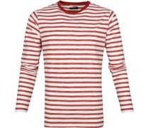Longsleeve T-shirt Streifen Rot