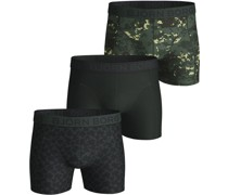 Boxershorts 3er-Pack Digital Woodland