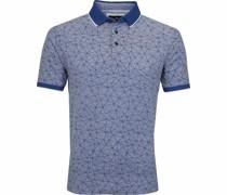 Web Design Poloshirt Blauw
