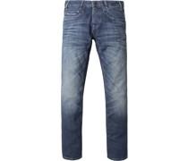 Commander 2 Jeans Blau