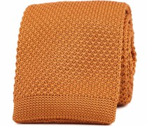Knitted Krawatte Orange