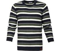 Striped Rib Pullover