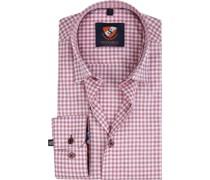 Hemd HBD Bordeaux Checks