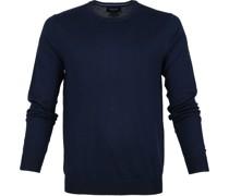 Pullover O-Ausschnitt dunkelblau