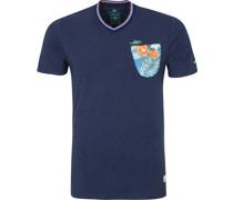 (NZA) Te Arai T-Shirt Navy