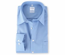 Luxor Hemd Blau Comfort Fit