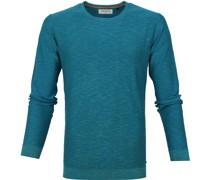 Slubyarn Pullover Blau