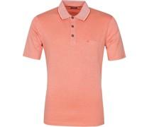 Poloshirt Orange Melange