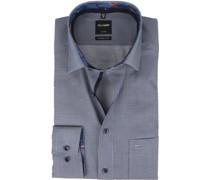 Luxor Modern Fit Hemd Schwarz