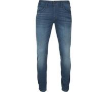 V85 Schrambler Jeans SF Blau