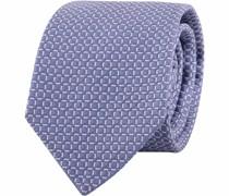 Krawatte Kariert Blau