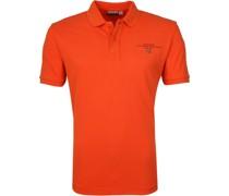 Poloshirt Elbas 3 Orange