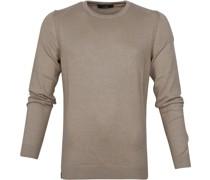 Sweater Aluminium Braun