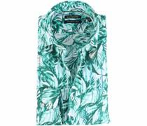 Hemd Floral Green
