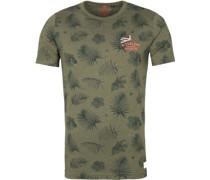 (NZA) Pearson T-Shirt Dunkelgrün