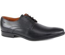 Schuh Schwarz Leder