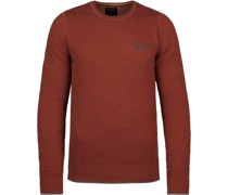 Pullover Knitted Rot