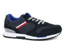 Sneaker Retro Runner Stripes Dunkelblau
