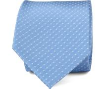 Krawatte Seide Blau F91-7