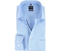 Luxor Modern Fit Hemd Blau Design