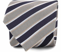 Krawatte Seide Streifen F82-10