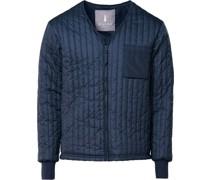 Liner Jacket Dunkelblau