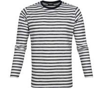Longsleeve T-shirt Streifen Navy