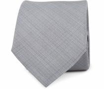 Krawatte Seide Grau K81-11