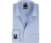 Luxor Hemd SL7 Hemd Modern Fit Blue
