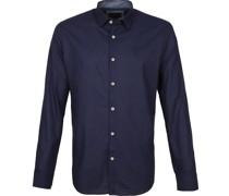 Hemd Pattern Blau
