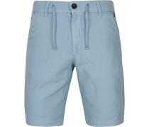 Chino Shorts Hellblau