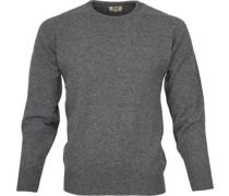 Pullover O Lammwolle Grau