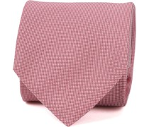 Krawatte Seide Rot