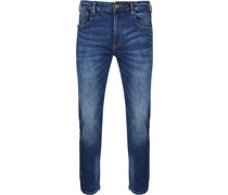 Skim Jeans Blau