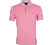 Melange Poloshirt Pink