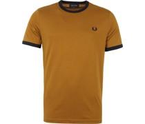 Ringer T-Shirt Kamel