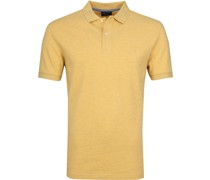 Short Sleeve Poloshirt Gelb