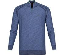 (NZA) Methven Half Zip Pullover Blau