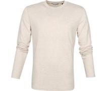 Longsleeve T Shirt Beige