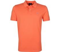Polo Shirt Rugger Russet Orange