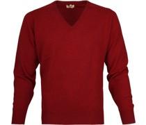 Pullover V Poppy Mellange