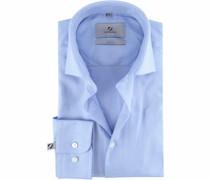 Prestige Hemd Albini Blau