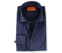 Skinny Fit Hemd Blau 132-4
