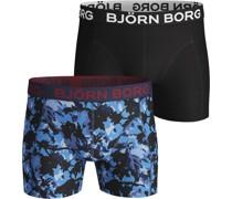 Boxershorts 2-Pack Bonnie Blue