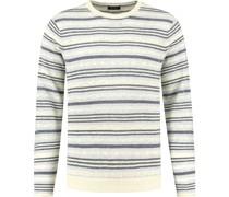 Pullover Streifen Blau