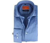 Hemd Skinny Fit Blau