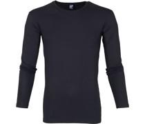 Milton Longsleeve Shirt Navy