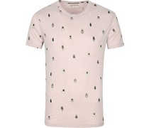 T-Shirt Insekten Khaki