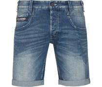 Commander Jeans Short Mid Blue